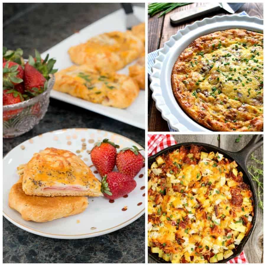 30 Brunch Recipes Including Ham Cheese Crescent Puffs