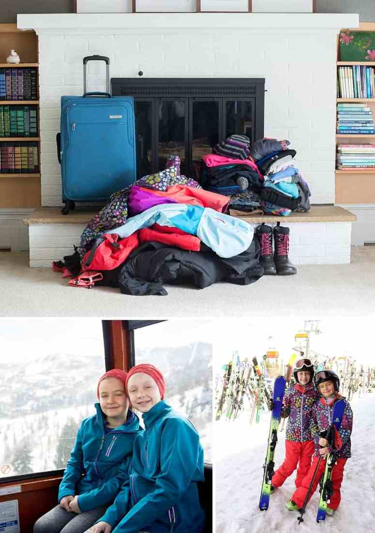 How to Maximize Space in Your Luggage: 10 packing tips and hacks for your next family vacation *This family of four was able to pack everything for a ski trip into ONE suitcase. Great resource for parents.