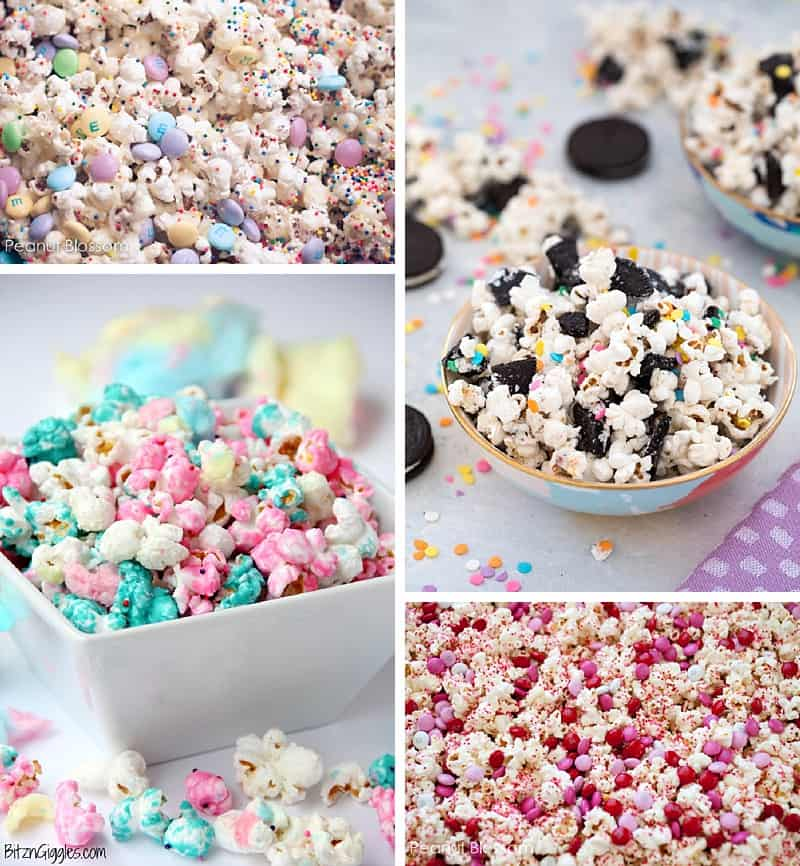 You're sure to have the BEST movie night EVER with these 10 sweet popcorn recipes #movienight #popcorn #popcornrecipes #recipe #recipes #kidssnacks #snacks #familytime *Loving these parent tips too