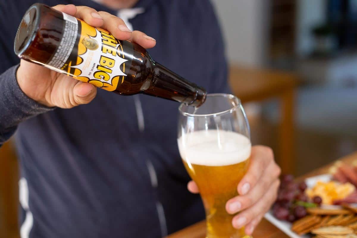 The Weizen glass in our new beer glasses set was perfect for the Wheat Ale at our craft beer tasting party.