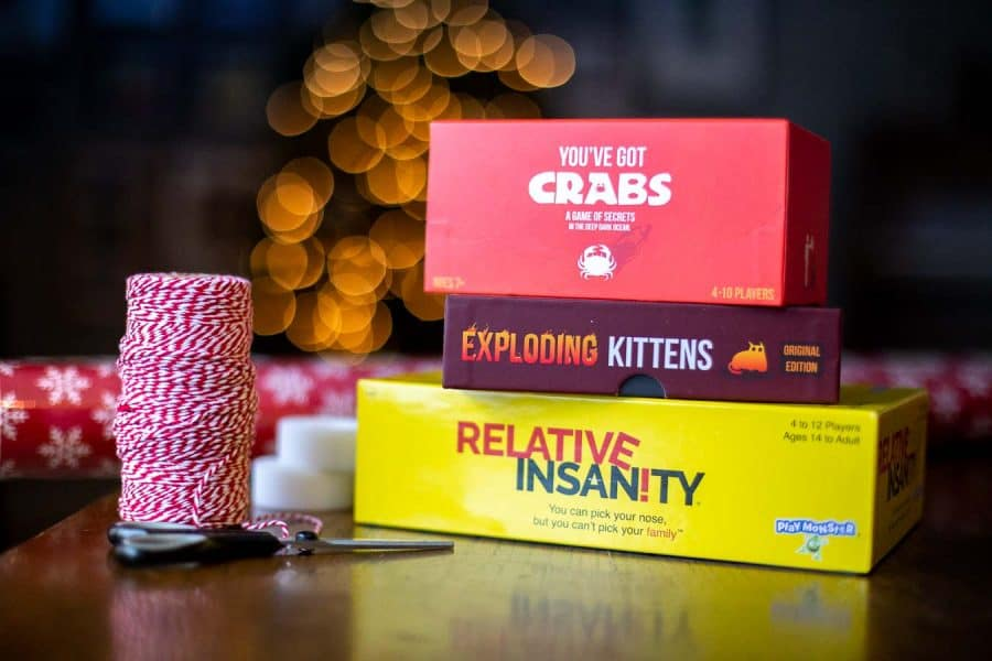Awesome games to give for a slow fun-filled Christmas.