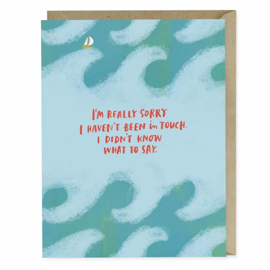 Real-life examples of what to say to someone with cancer (and what not to say) - Knowing what to say to a friend with cancer can be challenging. Words matter. #breastcancer #cancer *This post was so helpful and I loved this set of cards she recommended.