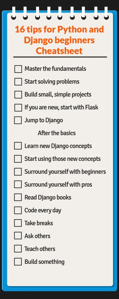 16 Tips for Python and Django beginners - Let's learn about