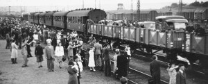 picture of kelenfold station, 1942