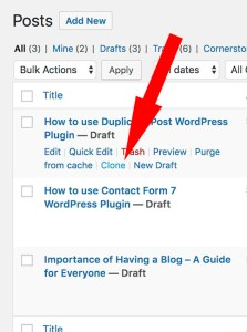 How to use Duplicate Post Plugin