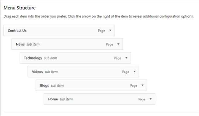 How to create and add a navigation menu in WordPress -9