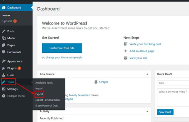 How to use WordPress Importer - WordPress Plugin