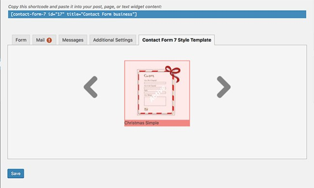 Contact Form 7 Styling. 5