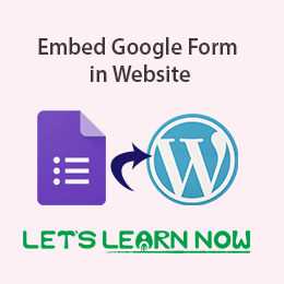 Embed Google Form in Website featured image