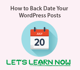 How to Backdate Your WordPress Posts