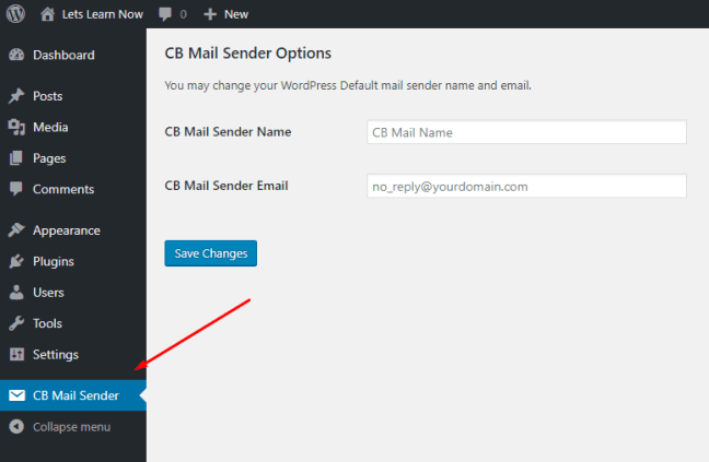 How to Change Sender Name in Outgoing WordPress Email (1)