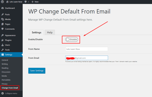 How to Change Sender Name in Outgoing WordPress Email (3)