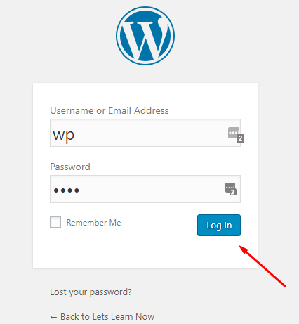 How to Login WordPress Site (2)