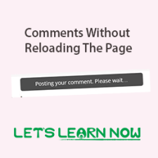 WordPress Comments Without Reloading The Page by Ajax