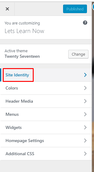 how to add favicon in WordPress (7)