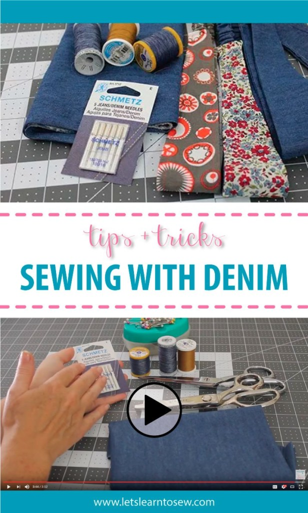 Tips and Tricks For Sewing With Denim