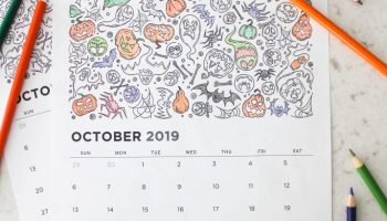 Printable September 2019 Calendar Coloring Pages Let S Mingle Blog