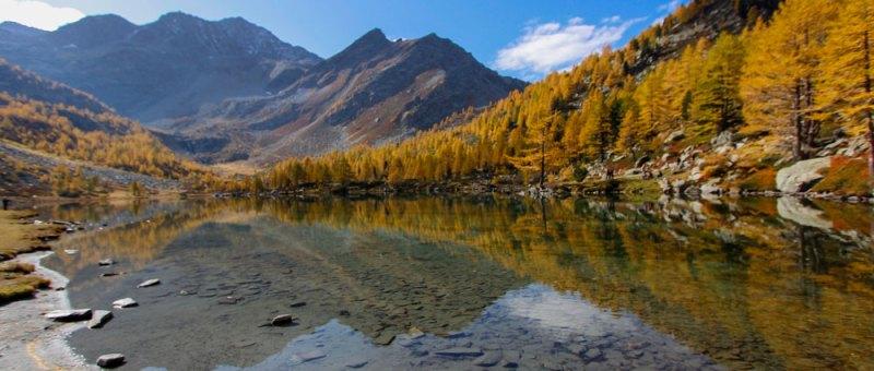 Lago d'Arpy: uscita fotografica
