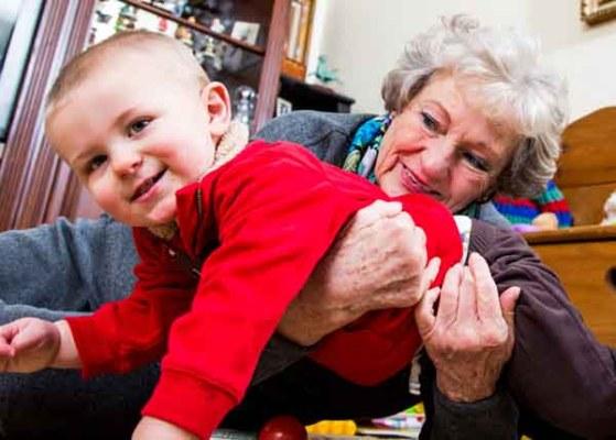 Active Grandma Ruth