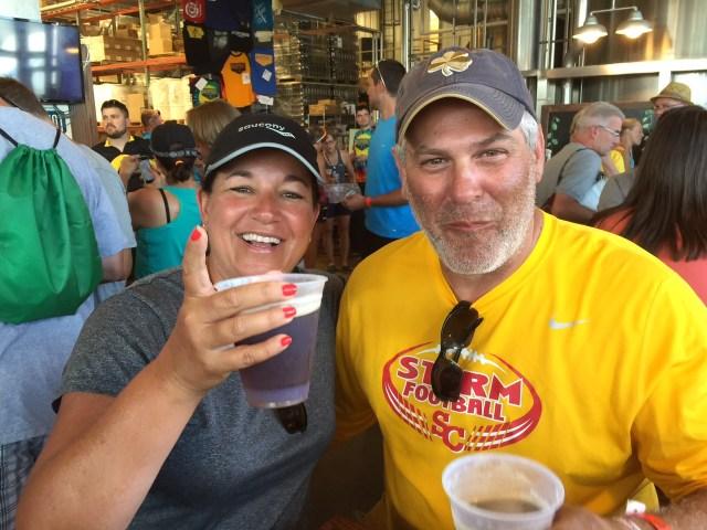 Marianne and Bob Corbin of Davenport 2