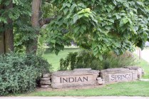 Indian Springs - Indian Springs Park is a great little green space near the Village of East Davenport.