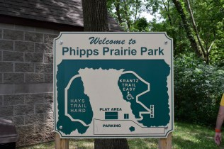 Phipps Prairie Park - There are two trails here, one easy and another more challenging.