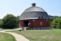Ryan's Round Barn outside Johnson-Sauk Trail