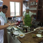 Cooking school in Maynmar