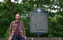 Revolutionary War Marker at Black Hawk