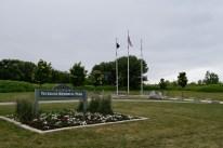 Veterans Memorial Park in Davenport