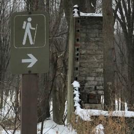 Smiths Island Walking Trail Sign