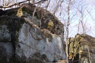 Rocky Bluff at Wildcat Den park