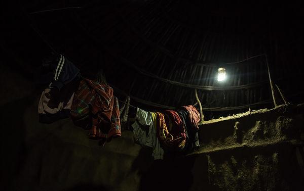圖片說明/村落利用其再生能源發電