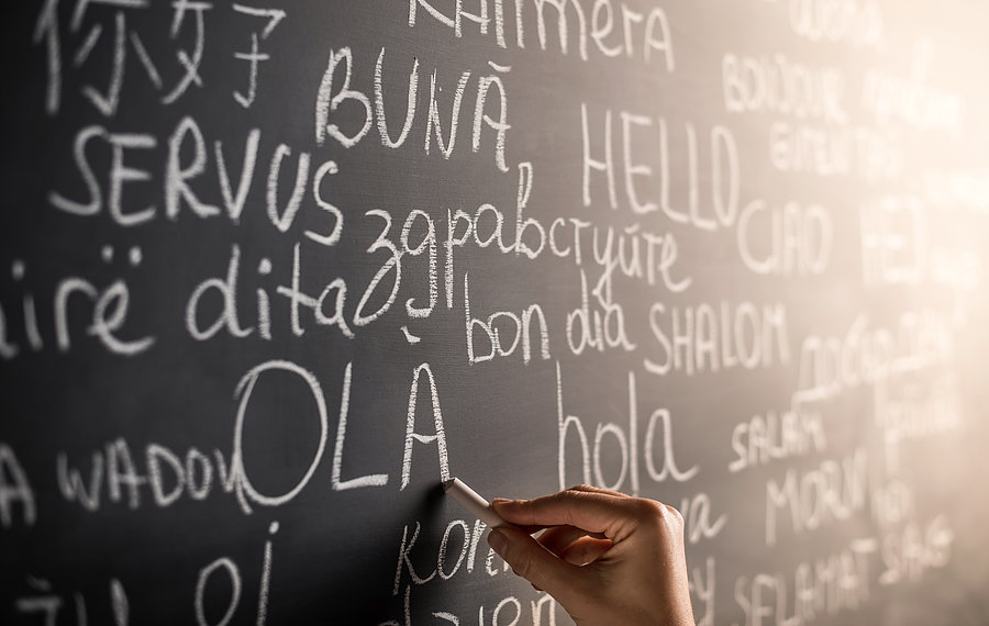 圖片說明/社會如同這個黑板,充斥各式各樣的語言和思想。