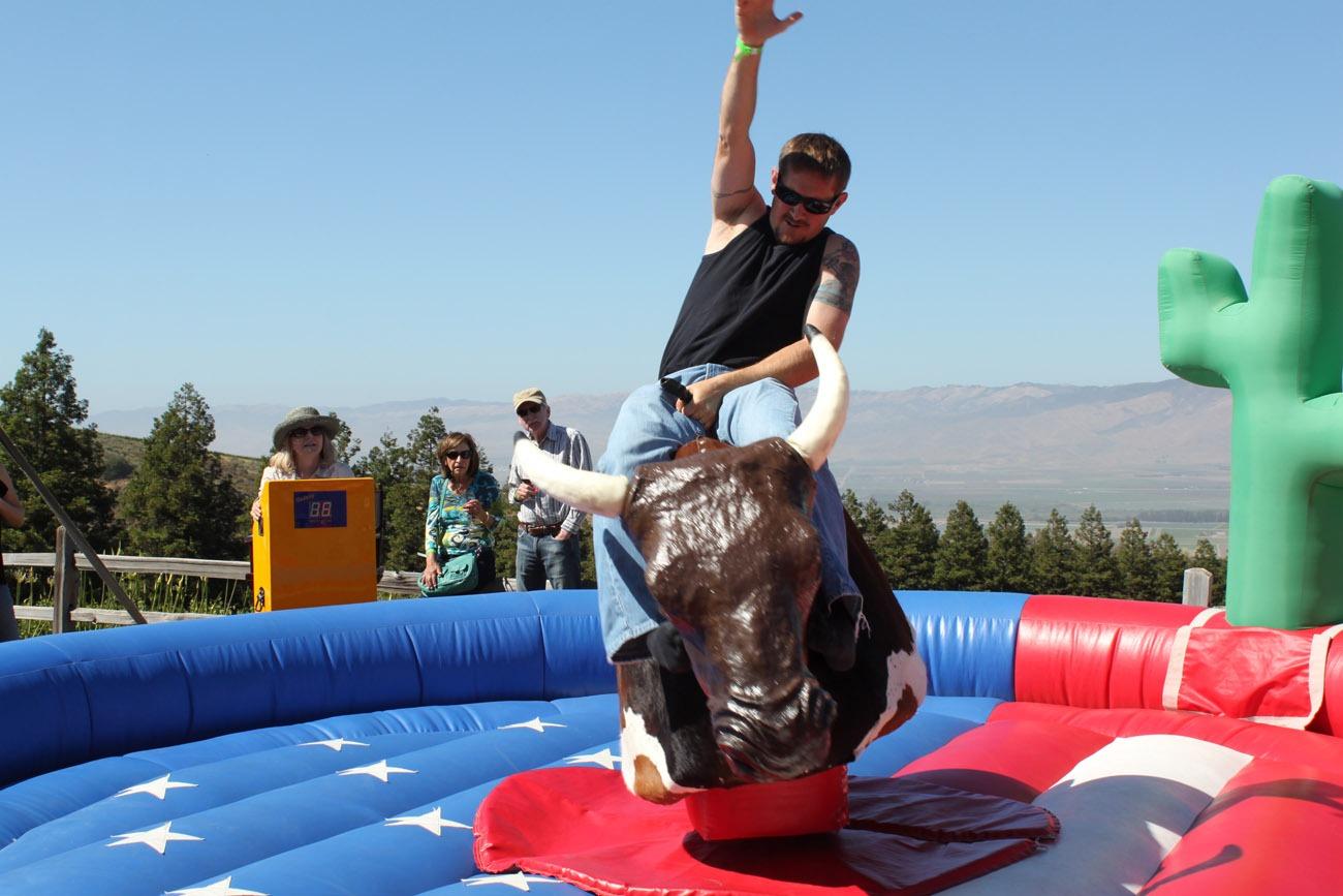 Mechanical Bull Rental  Party Rentals  San Francisco Bay