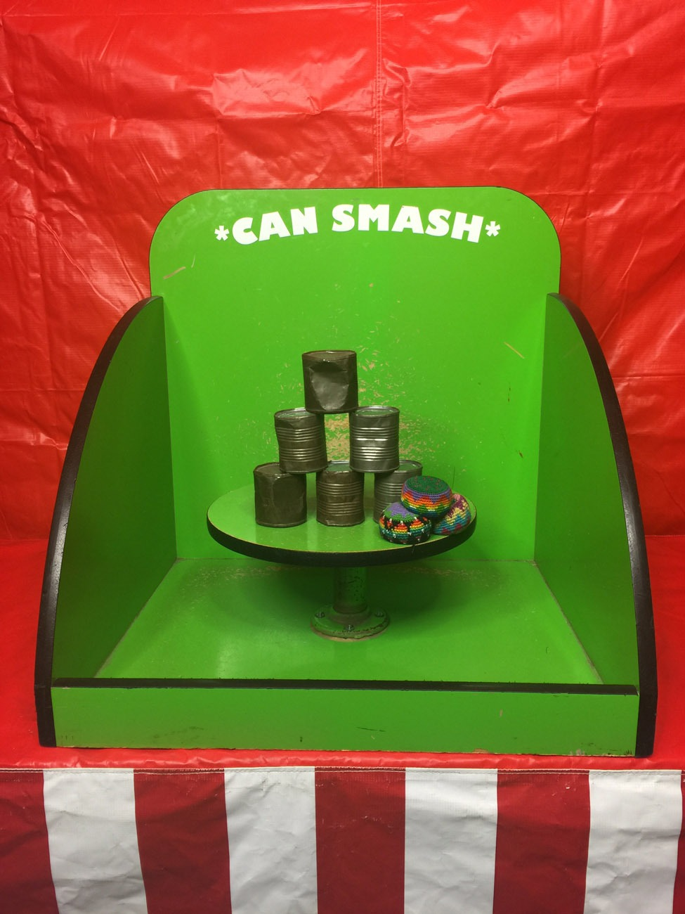 Can Smash Or Tin Can Alley Carnival Game Lets Party