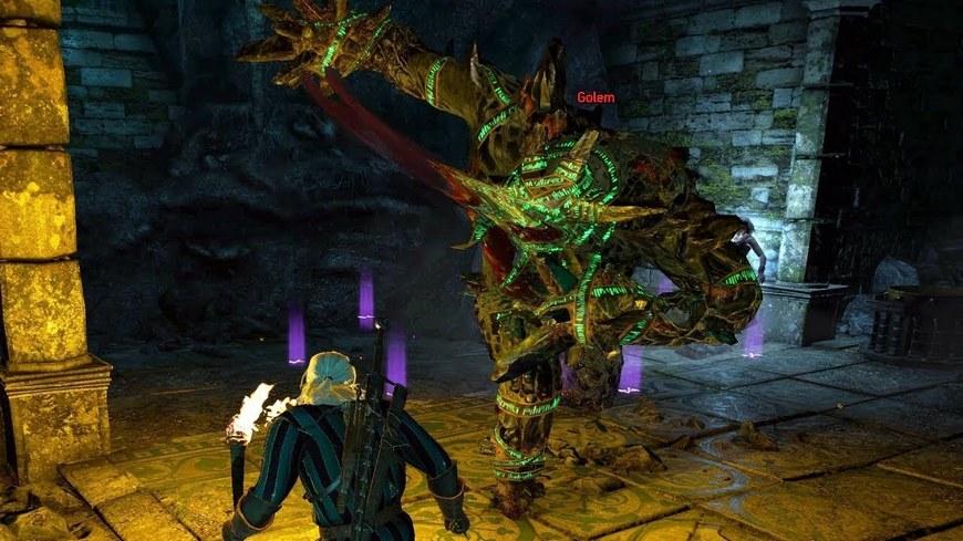 Witcher 3-де гольемді қалай тез өлтіруге болады 3: Бестиар, ұрыс тактикасы