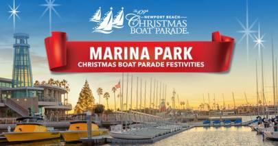 Newport Beach Christmas Boat Parade Marina Park