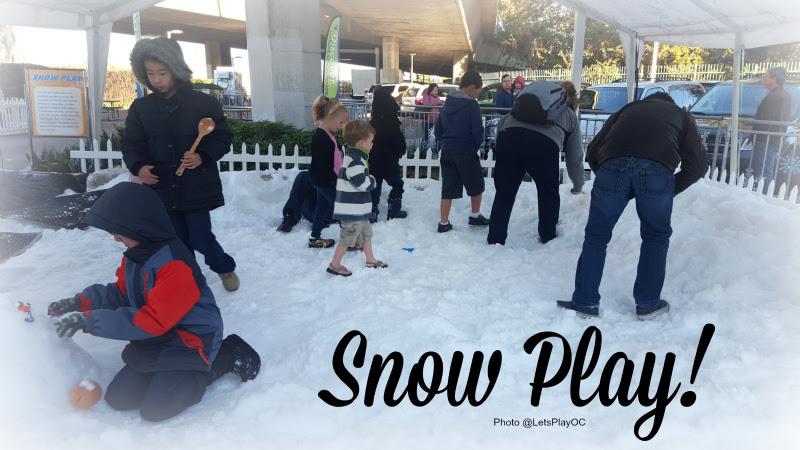 Discovery Cube Winter Wonderfest Snow Play