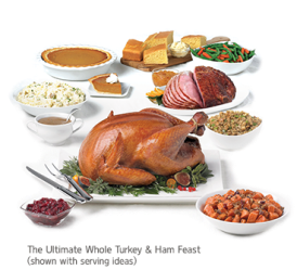 holiday marie turkey callender feasts whole feast include five breast