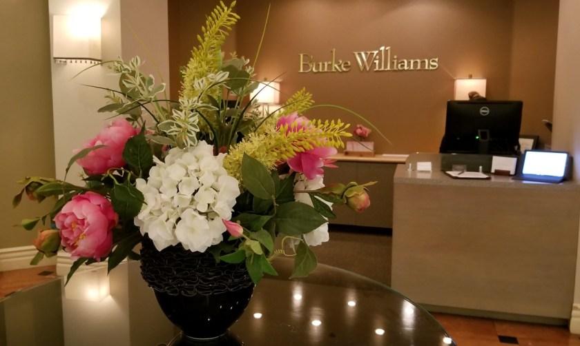 Burke Williams Spa Mission Viejo Lobby Valentines Galentines Day