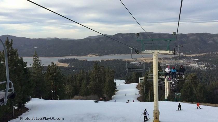 Big Bear Lake Snow Summit Lifts