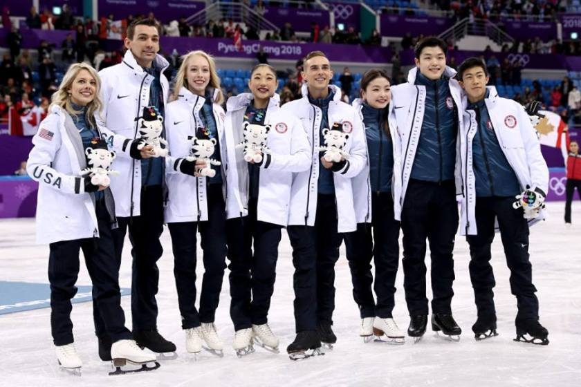 Stars On Ice Honda Center 2018 Winter OLYMPIC MEDALIST