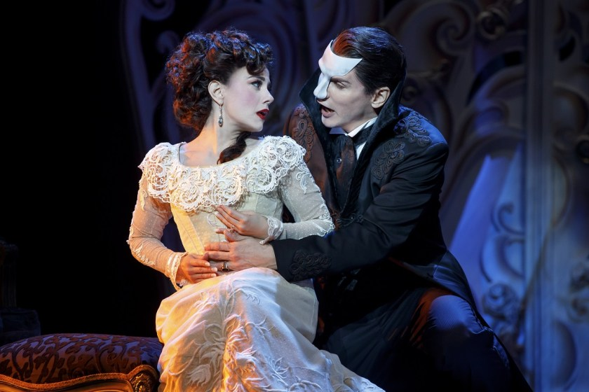 Segerstrom Center for the Arts - Love Never Dies - Meghan Picerno and Gardar Thor Cortes star in Love Never Dies - Photo by Joan Marcus