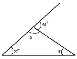 GRADE 7: TRIANGLE & ITS PROPERTIES: EXTERIOR ANGLE THEOREM