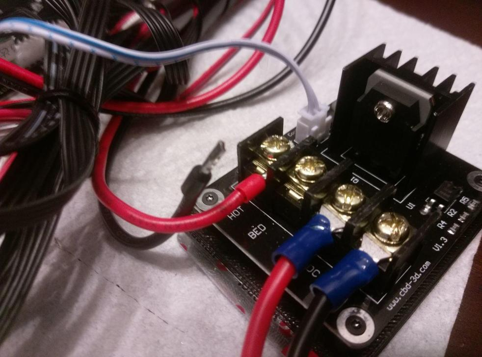 Mosfet Hotbed Connectors