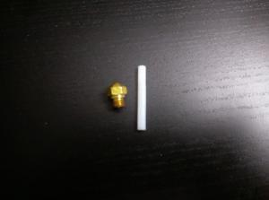 Stock Nozzle and PTFE Tube
