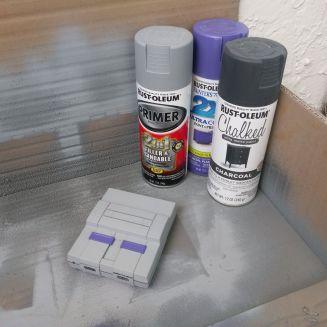 SNES Classic Case Painted