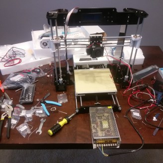 Anet A8 3D Printer Assembly
