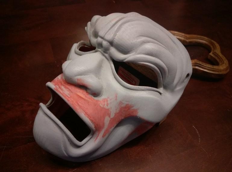 3D Printed Mask Second Bondo